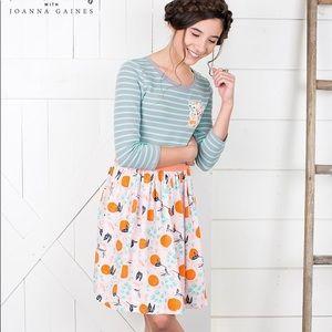 Joanna Gaines/Matilda Jane fresh squeezed dress